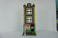 Facade idea (ivsar) Tags: lego moc legomoc modular legomodular