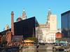 View Across Salthouse Dock, Liverpool, UK (teresue) Tags: 2017 uk unitedkingdom england liverpool pumphouse salthousedock royalliverbuilding merrygoround carousel pierhead merseyside