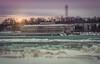 The Toronto Power Generating Station is a former generating station located along the Niagara River in Niagara Falls, Ontario, Canada, (Paula Cheese) Tags: torontopowergenerator niagarafalls ontario winter paulacheesephotography nikon d750 photoshop power old river niagarariver canada nikoncanada