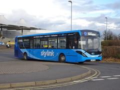 trent barton 120 East Midlands Airport (Guy Arab UF) Tags: trent barton 120 yx67vev alexander dennis e20d enviro 200 mmc bus east midlands airport skylink wellglade buses wellgladegroup