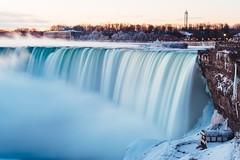 Niagara Falls (Canadian side) (Smaku) Tags: landscape marineland morning sunrise river water longexposure 💧 nature niagarafalls waterfall canada ontario