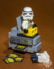 Fun at the office (Greg 50) Tags: fun lego copier photocopieuse stormtrooper starwars