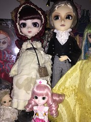 Bloody Red Hood, Butler and Bohso (Josie&theKILLER_DOLLS) Tags: pullip taeyang jun planning groove living dead dolls collection jose
