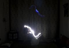 Lumínica I (Antífama) Tags: haz luz light lightpainting woman mujer danza baile dance trance inner intro power energy energía rayo ray intimacy intimidad personal soledad alone dark darkness oscuridad