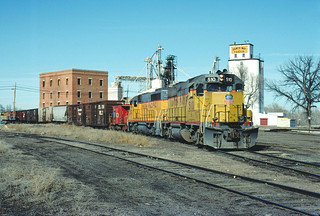UP 510 #LYG04 Switching at Ft. Collins CO February 1, 1992