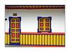 Couleurs de Salento 3/ Colombie (PtiteArvine) Tags: salento porte fenêtre barrière couleurs rouge jaune géométrie colombie