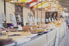 Food market (sonia.sanre) Tags: tradicion tradition tasty ciudad city mercado sweet food cake market england uk cambridge