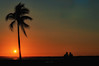 Sunset (MassiVerdu) Tags: cuba cuban cienfuegos palm palms palma couple coppia sea seascape mare sun sunlight sunset tramonto sky skyscape cielo sole evening sera travel trip journey orange love landscape paesaggio