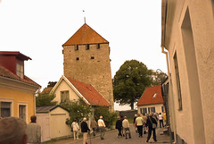 A Tower along the walls of Visby Gotland Sweden. (bellrich1941) Tags: gotland visby sweden
