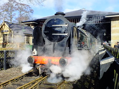 Southern 926 Repton . (steven.barker57) Tags: southern steam loco locomotive train trains heritage rail passenger schools class 826 repton uk england nymr north yorkshire moors railway steaming preserved