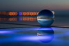 And then it got darker... (V Photography and Art) Tags: glasssphere glassball reflections refraction seaside glass light lights playoflight zadar croatia pointofview pov macro dof depthoffield bokeh space greetingtothesun