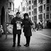 orientation (Erwin Vindl) Tags: orientation streetphotography streettogs candid blackandwhite monochrome innsbruck erwinvindl olympusomd em10markii
