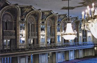 Chicago Illinois -  Chicago Hilton on Michigan Avenue - Grand Ballroom  - Historic