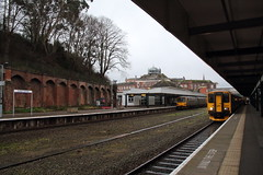 143611 & 150261 Exeter Central, Devon (Paul Emma) Tags: uk england devon exetercentral exeter dieseltrain train railway railroad 150261 143611