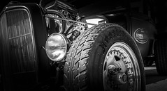 MOTORFEST '17 (Dave GRR) Tags: car vehicle auto automobile retro classic old hotrod ratrod american muscle mono monochrome chrome show motorfest canada olympus omd em1 1240