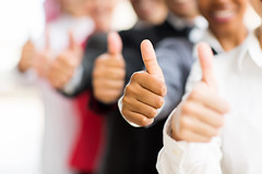 business people giving thumbs up (Nirbhay Dhapodkar) Tags: business team executive entrepreneur row thumbsup group closeup businesswoman businessman hands corporate office colleagues african indian man woman africanamerican afroamerican coworkers businesspeople company caucasian young multiracial unity multicultural whitecollar ethnic black workplace senior diversity adult male female arab confident professional people modern beautiful southafrica