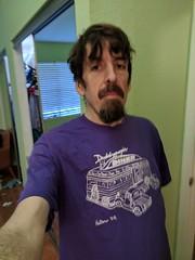 Daddypops Diner (earthdog) Tags: 2018 googlepixel pixel androidapp moblog cameraphone earthdog self tshirt shirt selfie
