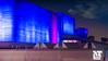 The National Theatre (DobingDesign) Tags: southbank london londonarchitecture modernarchitecture blue brutalist nightcolours nightshot architecture sky pinks blues bluehour twilight buildings nationaltheatre lines angular brutalistarchitecture