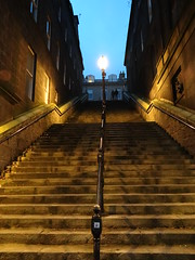 Night Steps (Ian Robin Jackson) Tags: aberdeen scotland steps night darkness light people sony zeiss scottish