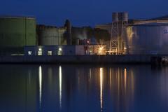 (nadiaorioliphoto) Tags: water fabbriche industry chimical lights luci night notturna longexposure edificio