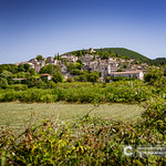 One of the typical authentic French mountain villages in the countryside thumbnail
