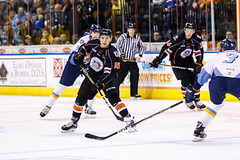 "Kansas City Mavericks vs. Toledo Walleye, January 20, 2018, Silverstein Eye Centers Arena, Independence, Missouri.  Photo: © John Howe / Howe Creative Photography, all rights reserved 2018. • <a style=""font-size:0.8em;"" href=""http://www.flickr.com/photos/134016632@N02/25966333128/"" target=""_blank"">View on Flickr</a>"