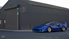 F40 Industrial (jandengel) Tags: granturismo gt gts car scapes game ps4 polyphony ferrari f40