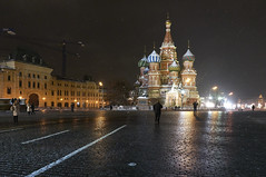Cathedral of Vasily the Blessed (Karl Le Gros) Tags: saintbasil redsquare 2018 moscow russia monument arichitecture nightscape xaviervonerlach cathedral