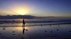 intrinsic worth (Bec .) Tags: bec canon 80d 1022mm 10mm intrinsicworth adelaide henleybeach southaustralia shore beach ocean water sand man walking silhouette waves clouds sky light beautiful sadness