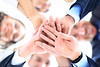Small group of business people joining hands (skyadsvietnam) Tags: circle join teamwork success support people business smile team worker caucasian staff meeting angle businessman happy friendship group isolated young friends businesspeople ring partners girl years hands background associates happiness partnership togetherness scrum businesswoman low below office cheerful standing businessteam confidence coworkers concept unity natural women male together looking union belarus