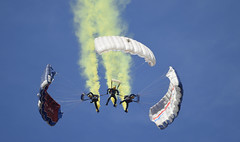 The decent (Andrew-Jackson) Tags: skydiver sky