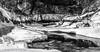Minnehaha (David J. H.) Tags: bridge minnehaha snow winter minnesota minneapolis night