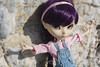 I miss the sun (Erla Morgan) Tags: doll pullip pullipxiaofan xiaofan xiao cora erlamorgan groove junplanning pureneemo wig chips purple light sun beach rose pink green