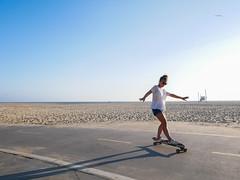 Longboard in Venice Beach (Matalabasse) Tags: skateboard longboard venice usa los angeles