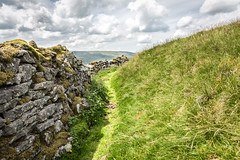 Exploring The Dales (jamesromanl17) Tags: landscape landscapes path walk walking sky skies canon eos 5d markiii clouds cloud cloudscape cloudy yorkshire dales nationalpark england britain uk countryside hiking mountain wall grass green moss