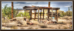 OracleAZ_6512d (bjarne.winkler) Tags: photo foto safari 2017 2 nothing better that finding dirt road hunting for saguaros abandon buildings left you explore