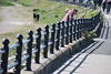 Railings, St Annes Lytham, Lancashire. (Manoo Mistry) Tags: nikon nikond5500 tamron tamron18270mmzoomlens seaside stannes lancashire lytham railings bannister balustrading