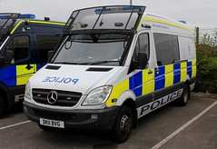 Cheshire Police Mercedes Sprinter Public Order Van (PFB-999) Tags: cheshire police constabulary mercedes sprinter public order van vehicle unit pov psu support lightbar grilles fendoffs sidelight leds dk11bvg