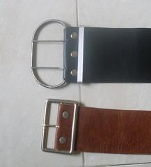 Belt (262) mit Schnalle 4b / Belt (259a) (ikat.bali) Tags: leder leather fetish belt brownbelts wide fashion outfit gürtel breitegürtel widebelt blackbelt