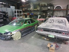580403_10206148885898147_2269401485455169571_n (ryanlarue3) Tags: 1968 dodge charger rt srt8 restomod custom restoration mopar hemi