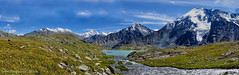 Valley of Seven Lakes (Tatters ✾) Tags: russia altai valleyof7lakes alpine lake mountains geotag gps creek россия алтай