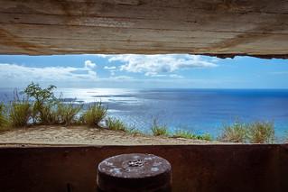 WWII Pillbox at Diamond Head - Oahu, Hawaii