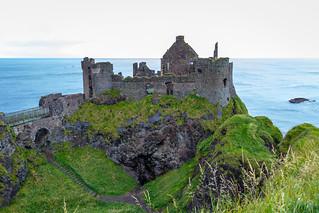 UK - Northern Ireland - Dunluce Castle