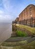 Neat stonework (Photos taken with Sony mirrorless cameras) Tags: liverpool pierhead docks warehouse coast port steps brick