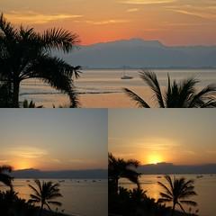 Bonjour !  Buenos dias ! (France-♥) Tags: mexique matin soleil lacruz collage décembre baie bay water eau day7 sky ciel morning sea ocean