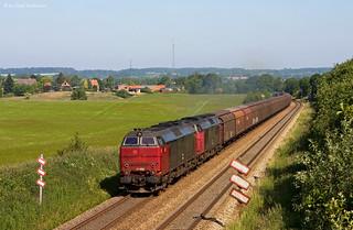 DB Schenker Rail Danmark MZ 1449 und 1448 Bredstrup