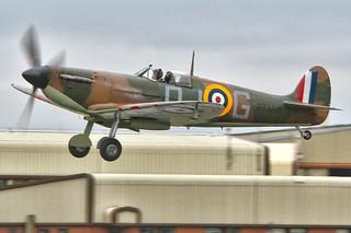 supermarine Spitfire Mk IIa P7350