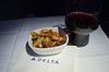 DL_flight_36 (chiang_benjamin) Tags: inflight deltaairlines plane aviation avgeek airplane food dinner meal businessclass luxury alessi warmnuts redwine alcohol