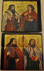 Astorga (León). Museo de los Caminos.Apostolado de la predela de un retablo, siglo XVI (santi abella) Tags: astorga león castillayleón españa museodeloscaminos retablos palacioepiscopaldeastorga
