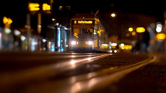 Night tram... (.: mike | MKvip Beauty :.) Tags: sony⍺6500 sonyilce6500 sonyalpha6500 sonyalpha sony alpha emount ⍺6500 ilce6500 ibis кмзюпитер8 кмз юпитер8 kmzjupiter8silver kmz jupiter8 m39 silver 1962 vintagelens vintageprime primelens prime manuallens manualfocusing manual tilt tiltadapter diy handheld availablelight naturallight night nightlights street shallowdof bokeh bokehlicious beyondbokeh extremebokeh smoothbokeh mainstation hauptbahnhof karlsruhe tram streetcar tracks germany europe mth mkvip reflections